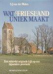 Molen, S.J. van der / Vogt, Paul - Wat Friesland uniek maakt (Een volstrekt originele kijk op een bijzondere provincie)