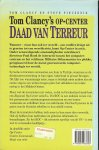 Clancy, Tom  Vertaling Jan Smit - Tom Clancy's Op-Center  - 4 Daad van terreur