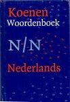 Boer, W. Th. de(ds1228) - Koenen woordenboek Nederlands