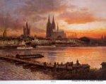 Astudin-Karten - Astudin-Karten vom Rhein 20 Bilder nach Ölgemälden