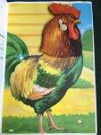 Eshuis, Dick - Leuke Waggelkopdieren (tekkel, kuiken, konijn, poes, lammetje, haan)
