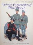 Kemp, Anthony.  McBride, Angus. - German Commanders of World War II. Men at Arms 124.