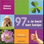 Bosma, Heleen  .. Illustraties van Marjolein Krijger - 97 x je bent een kanjer