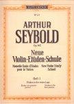 Seybold Arthur (ds1001) - Neue violin etuden schule deel I, II, III en V