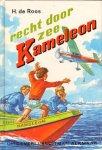 Roos, H. de - Recht door zee Kameleon, UKA serie, gave staat