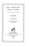 Masani, M.R. - The Communist Party of India      A Short History