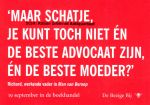 Nijenhuis, Hans - Prentbriefkaart: Man van beroep (Maar schatje, je kunt toch niet én de beste advocaat én de beste moeder?)