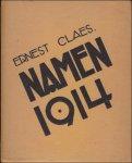 Ernest Claes. - NAMEN 1914,  VIJFDE druk