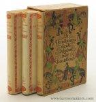 Chaucer, Geoffrey / A. J. Barnouw (transl.). - De vertellingen van de Pelgrims naar Kantelberg [ 3 volumes with dust-jackets in slipcase ].