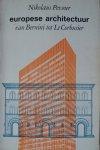 Pevsner, Nikolaus - Europese architectuur van Bernini tot Le Corbusier