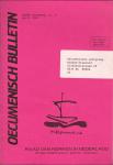Raad van Kerken in Nederland Amersfoort - oecumenisch bulletin zesde jaargang nr.4 Oktober 1991