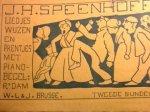 Speenhoff, J.H. - Liedjes, wijzen en prentjes met pianobegeleiding. Tweede bundel
