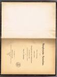 Kahlbaum, Georg W. A. - Theophrastus Paracelsus. Ein Vortrag, gehalten zu Ehren Theophrast's von Hohenheim am 17. Dez. 1893 im Bernoullianum zu Basel - 1894