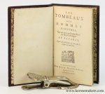 (Christyn, Johannes Baptista (Jean Baptiste) (Brussels 1622-1690) - Les tombeaux des hommes illustres, qui ont paru au Conseil Privé du Roy Catholique au Pays-Bas, depuis son institution de l'an 1517 jusques aujourd'huy.