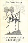 Dendermonde, Max - Het geheim van de miereneuker