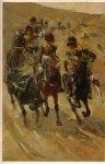 Hoek, W. van den, J.W. van den Hoek, - De geschiedenis der Rijdende Artillerie.