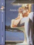 Grunberg, Arnon  Omslagontwerp Jan de Masselink  Foto auteur Hollandse  Hoogte - Blauwe maandagen,  De beste debuutromans