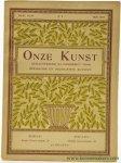 """Avermaete, Roger - (Orlowski, woodcuts) - Hans Orlowski. In: """"Onze Kunst, Geïllustreerd maandschrift voor Beeldende en decoratieve Kunsten""""."""