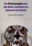 Bertrams, Jeroen - De 49 basisregels voor het delen, benutten en belonen van kennis