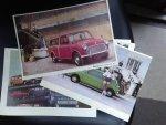 n.v.t. - 10 vintage foto's Mini