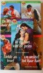 Gracie + Jewel + Metzger+ Saxon + Medeiros - De man van haar dromen + De verleidelijke getuige+ Liefde als troef+ De sleutel tot haar hart+ In de ban van de prins
