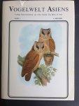 Rutgers, A. - Australische Vogelwelt. I+II. Europäische Vogelwelt I+II. Vogelwelt Asiens I+II.