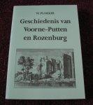 Plokker W. / P.J. Jonkers - Geschiedenis van Voorne-Putten en Rozenburg