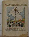 Ven, D.J. van der - Raemdonck, George van (ill.) - kindervreugd en volksvermaak, een folkloristisch prentenboek