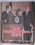 RED.- - Aanzien van 1974. Twaalf maanden wereldnieuws in beeld.