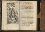 - Het Boek der Psalmen nevens de Gezangen bij de Hervormde kerk van Nederland;