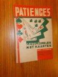 HAGENAAR, J., - Patiences. Geduldspelen met kaarten. Eerste vijftigtal.