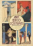 Barbier, George - Art Deco Costumes (With forty full colour plates), introduction by Madeleine Ginsburg, grote paperback, goede staat