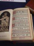 Leijten, M. - Heer, leer ons bidden ; Gebedenboek voor Roomsch-Katholieken, gezangen in Latijnschen en Hollandschen tekst.