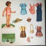 - Bambole di ritagliare - Formato grande N. 7