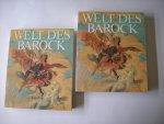 Feuchtmuller, R. / Kovacs, E. - Welt des Barock - I.Text- und Bildband , Reflexionen. II. Katalogkst