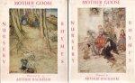 Perrault, Charles - Mother Goose: The Old Nursery Rhymes (Vol. I en II). Illustraties: Arthur Rackham.