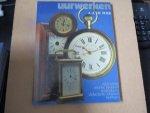 Boer. A.A. de - Uurwerken / tijdmeting, antieke klokken, reisklokken, electrische klokken, horloges