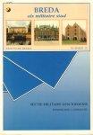 Klinkert, dr. W. en drs. J.P.C.M. van Hoof - Breda als Militaire Stad, Brochure Reeks nummer 15, 120 pag. paperback, goede staat