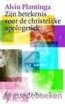 Vries, Ds. P. de - Alvin Plantinga *nieuw* laatste exemplaar! --- Zijn betekenis voor de christelijke apologetiek