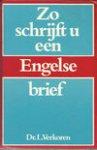 Verkoren - Zo schrijft u een Engelse brief