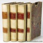 NIBBY, A. (ANTONIO) - Analisi storico-topografico-antiquaria della Carta de' dintorni di Roma. Edizione seconda.
