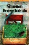 Simenon, Georges - 278  De  merel in de tuin