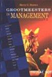 H.G. Starren - Grootmeesters in management