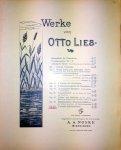 Lies, Otto: - Werke. 5 ernste Klavierstücke. Op. 20