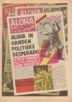 Diverse auteurs - Aloha 1973 nr. 16, Dutch underground magazine, 6 - 20 december met o.a. diverse strips, zeer goede staat