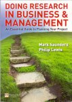 Saunders, Mark (ds1293) - Doing Research in Business and / An essential guide to planning your project