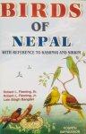 Fleming Sr., Robert L.  Fleming Jr., Robert L.  Bangdel, Lain Singh. - Birds of Nepal, with reference to Kashmir and Sikkim.