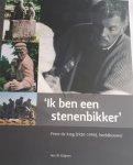 """KUIPERS, Jan J. B. - """"Ik ben een stenenbikker"""" Peter de Jong (1920 - 1990 ) beeldhouwer"""