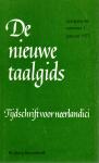 Berg, B. van den e.a. (redactie) - De nieuwe taalgids, jaargang 66, nummer 1, januari 1973