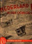 Vervooren, F. en W.C. Kentie, samenstelling, - Nederland in den oorlog ! [1e deel]